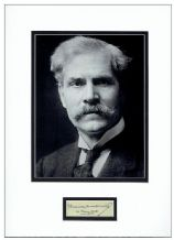 Ramsay MacDonald Autograph Signed Display